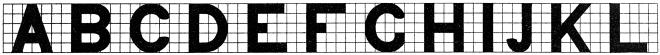 Bild: Kalligraphieschriften im ägyptischen Stil aus Draughtsmans Alphabet von Hermann Esser (1845–1908).  Quelle: https://www.rawpixel.com/image/378061/free-illustration-image-vintage-alphabets-ancient